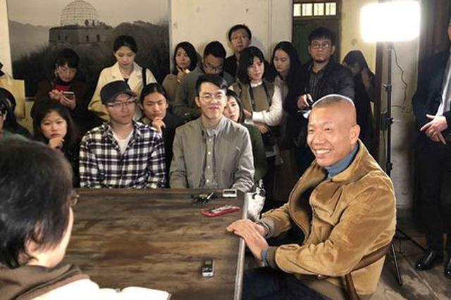 闽籍艺术家蔡国强回乡 透露将参与北京冬奥会烟火表演