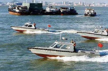 福建海警三支队举行命名仪式 两艘艇得名湖里、集美