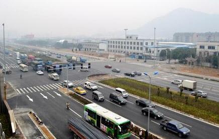 龙岩北三环全线试通车 可缓解工业路的交通压力