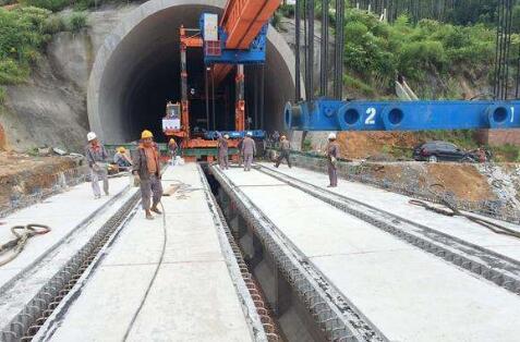 南龙铁路将于今年建成通车 届时南平至龙岩仅1.5小时