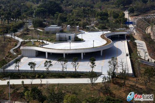 晋江八仙山公园停车场完工 新增300个车位