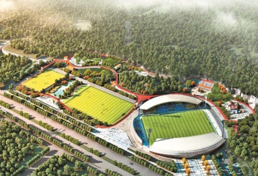 晋江将建首个足球主题公园 迎2020年世界中学生运动会