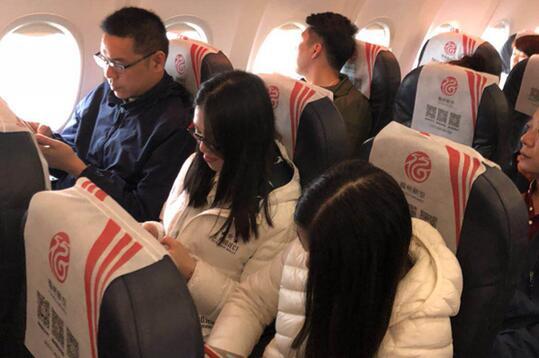 福州航空松绑手机禁令 19日起开放飞机上PED使用