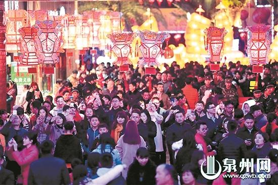 泉州灯会正月十三至十六举办 逾千盏花灯闹元宵