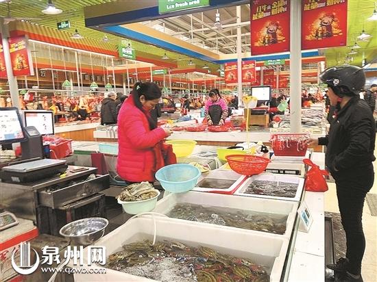 春节期间泉州肉菜价格稳定 海鲜价格看涨