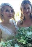 好莱坞女星Emma Robert当伴娘咯
