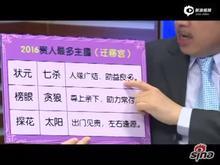 张盛舒:2018年紫微吉凶排行