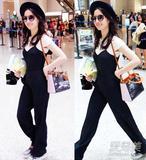 刘亦菲宋佳机场拼帅 春季裤装这么穿才时髦