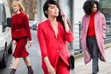 新年中国红 怎么穿才不俗套成潮流