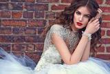 珠光宝气闪闪惹人爱 20款精美的珠宝元素婚纱