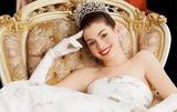 婚礼季 安妮-海瑟薇教你如何穿成优雅公主