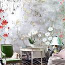 3招玩转花卉墙纸 把花香四溢的夏天搬回家