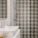 卫生间瓷砖怎么铺才好看?