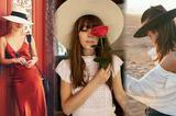 这个夏天 旅游美照还得靠百搭的草帽