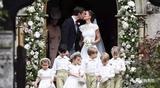 商务范:凯特王妃妹妹嫁亿万富豪,王子公主当花童