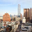 纽约有幢豪宅 像用玻璃方块搭成的积木塔