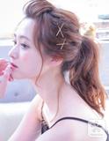 清爽又可爱 没有刘海的你和夏天更配噢