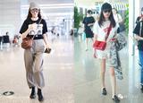 桃红梨白:唐嫣和杨幂穿得真是一对好姐妹!