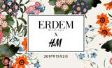 ERDEM X H&M设计师合作系列揭开神秘面纱