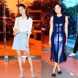 商务范:邓文迪和奶茶妹看秀,混时尚圈也不容易