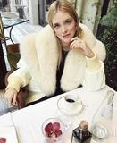 Chiara Ferragni自然光泽感的妆容 不加滤镜也能美如画
