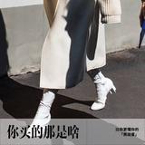 时装:大衣缩身高?因为你还缺一双高跟踝靴!