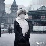 商务范:北方女生过冬天,不仅穿得厚而且穿得全