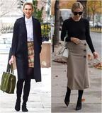 黎贝卡:冬天也想穿裙子,又暖又时髦的穿法都在这
