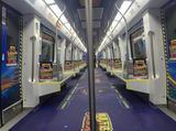 地铁上乘坐过山车?