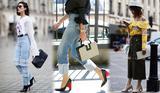 今年穿啥鞋最时髦 不如在鞋跟上玩花样才吸睛