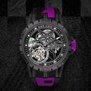 双重激越 罗杰杜彼Excalibur Spider Pirelli单飞行陀飞轮腕表