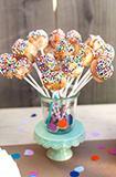 创意婚礼甜品 个性棒棒糖蛋糕
