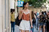 今年格外流行的白色热裤 你有吗