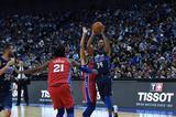 天梭表携手名宿球星 助力NBA中国赛上海站