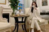 郑秀妍的白色西装 让你知道什么是神仙搭配