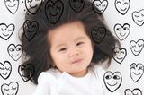 还记得那个发量惊人的炸毛宝宝吗 刚满1岁都签护发代言了