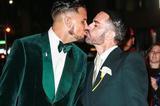 曾是LV创意总监 小马哥Marc Jacobs与模特男友纽约完婚