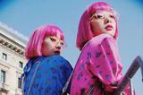 日本粉毛孪生姐妹花 身高不到160cm却是时尚界的座上客?