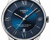 天梭杜鲁尔系列腕表 蓝色经典致敬百年匠心