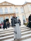 Angelababy28岁最后一天美到惊艳Dior秀场