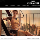 Coach与Selena Gomez首次推出联名成衣系列