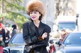 今年女明星都上暴发户式的雷锋帽