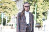 30张街拍告诉你 偶尔穿的像个男孩也很潮