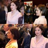 美到拉仇恨 乔妹朴信惠韩系透明光底妆超减龄