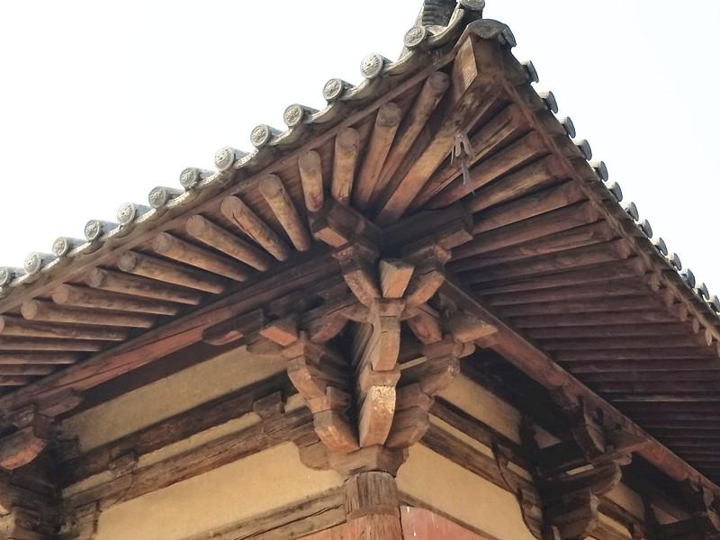 现存最古老的木构建筑 五台山南禅寺