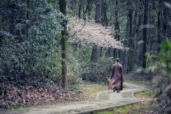 翠岩可真禅师是宋代著名高僧,福州人。曾经参访过当时高僧慈明禅师。(摄影:惜缘法师)