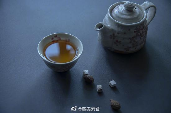 素食养生:五宝养生茶(图)