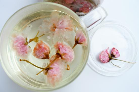 素食养生:春日盐渍樱花(图)