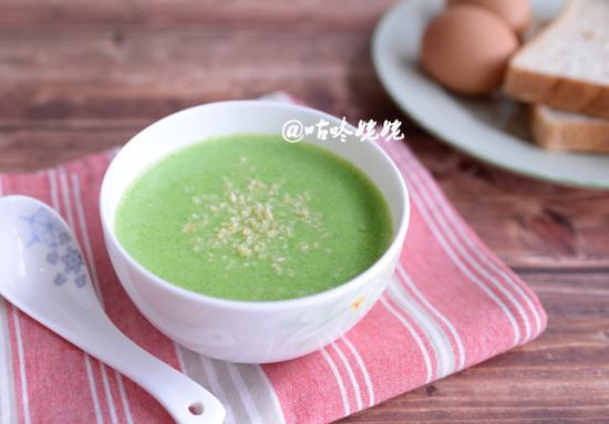 西兰花土豆浓汤:浓香可口营养健康