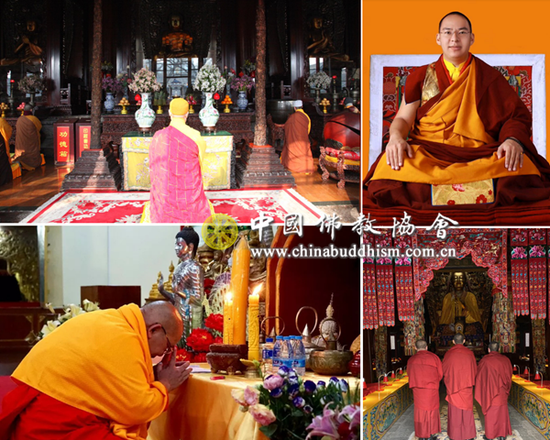 各地佛教人士为疫情地区民众祈福